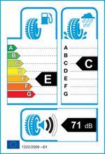 Etichetta per gomma: HANKOOK, K425 195/65 R15 91T Estive