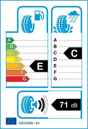 Etichetta per gomma: UNIROYAL, MS PLUS-77 225/50 R17 98H Invernali