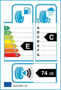 Etichetta per gomma: NEXEN, N8000 XL 215/45 R17 91W Estive