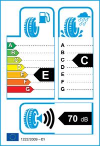Etichetta per gomma: TRISTAR, ECOPOWER 3 185/65 R15 88H Estive