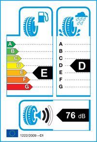 Étiquette de pneu: RADAR, RENEGADE A/T-5 275/65 R20 126S Ete