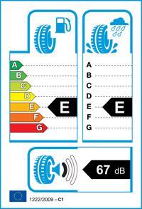 Etichetta per gomma: WANLI, SC501 155/65 R14 75T Quattro-stagioni