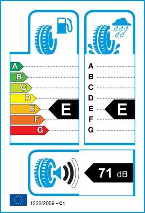 Etichetta per gomma: DURATURN, M WINTER 215/65 R16 98H Invernali