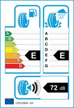 Etichetta per gomma: KUMHO, WS71 235/55 R17 99H Invernali