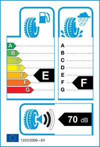 Etichetta per gomma: KUMHO, WP51 WINTERCRAFT M+S 3PMSF 165/70 R13 79T Invernali