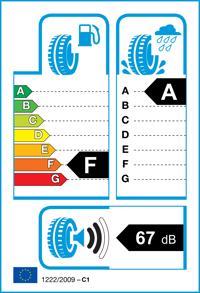 Etichetta per gomma: FULDA, SPORTCONTROL FP 205/45 R16 83V Estive