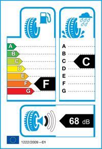 Etichetta per gomma: CONTINENTAL, PREM. SSR * 205/55 R16 91W Estive