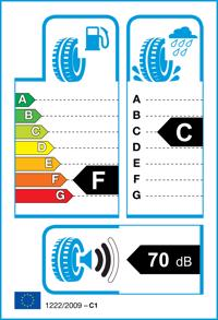 Etichetta per gomma: TOYO, PROXES T1R RF 195/55 R16 91V Estive
