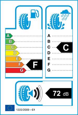 Etichetta per gomma: COOPER, WEATHERMASTER WSC 195/65 R15 95T Invernali