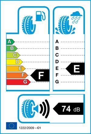 Etichetta per gomma: HANKOOK, RF10 245/75 R16 109T Estive