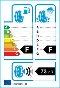 Etichetta per gomma: BRIDGESTONE, BLIZZAK DM-V2 265/50 R20 107T Invernali