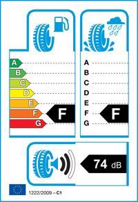 Etichetta per gomma: HANKOOK, RF10 225/70 R15 100T Estive
