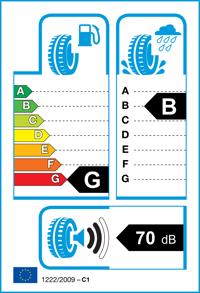 Etichetta per gomma: BRIDGESTONE, RE050A RFT 205/40 R18 82W Estive