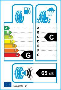 Etichetta per gomma: FULDA, ECOCONTROL AUSLAUF 155/80 R13 79T Estive