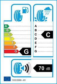 Etichetta per gomma: BRIDGESTONE, RE030 165/55 R15 75V Estive