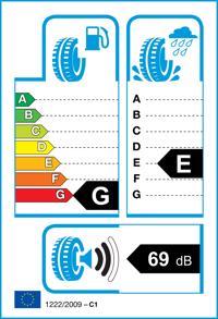 Etichetta per gomma: HANKOOK, OPTIMO K715 145/60 R13 66T Estive