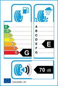 Etichetta per gomma: VEERUBBER, VTR-307 Trailmate 155/70 R12 73N Estive
