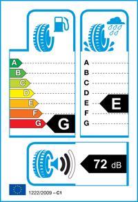 Etichetta per gomma: TRISTAR, TR1 155/ R12 88Q Invernali